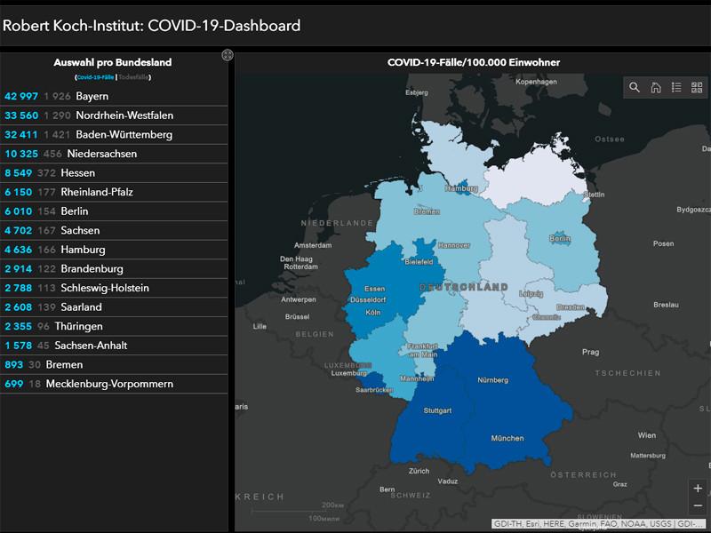 В Германии осталось 26 тысяч зараженных коронавирусом. Открываются ТЦ, школы, фитнес-клубы, музеи, церкви