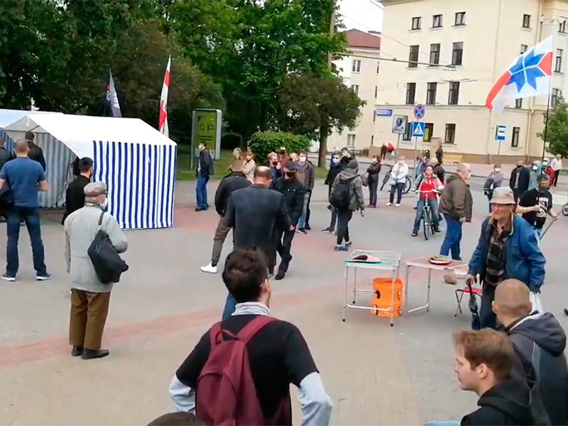 В Белоруссии сообщили о задержании 17 активистов