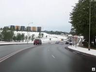 Снегопад в Литве, 12 мая 2020 года