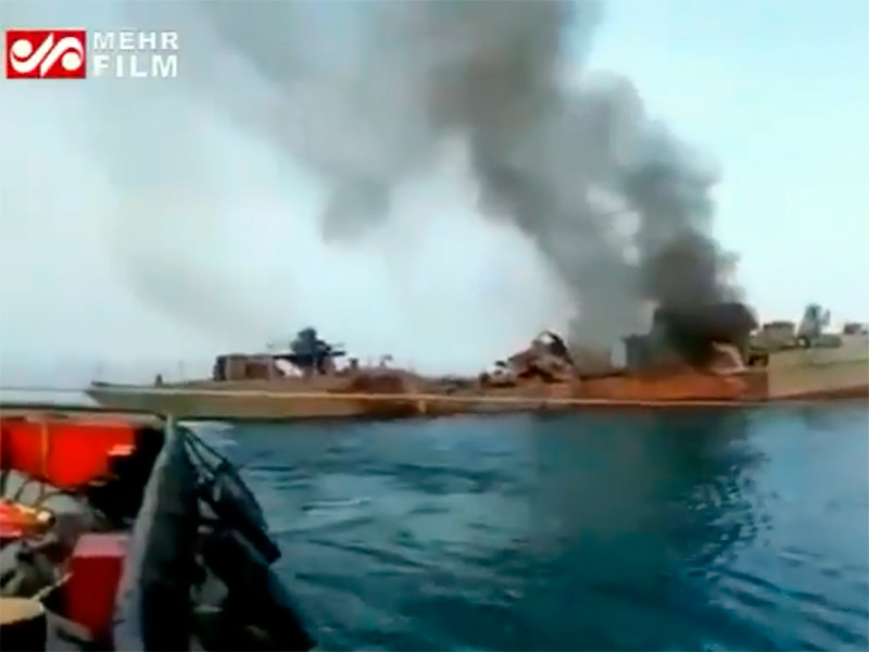 """Во время учений 19 иранских военных моряков погибли в результате """"дружественного огня"""""""