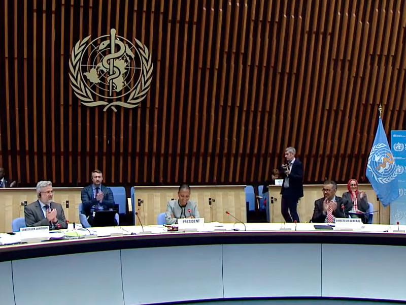 Всемирная ассамблея здравоохранения приняла резолюцию орасследовании международной реакции напандемию COVID-19