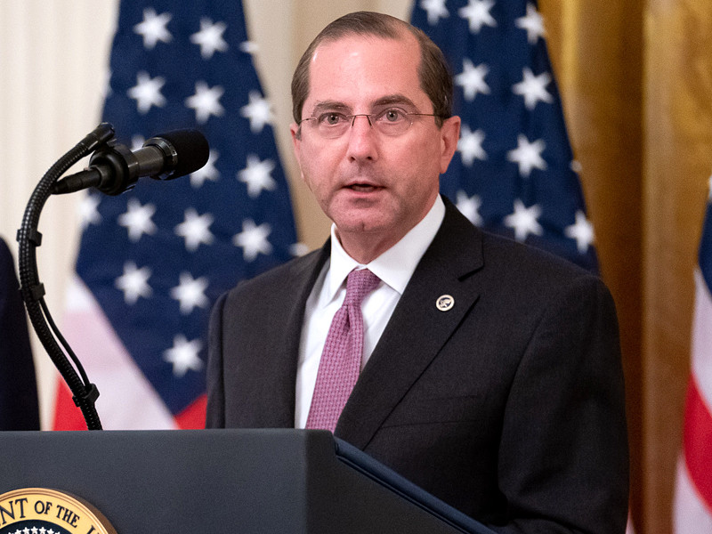 Глава Минздрава США назвал ВОЗ ответственной за смерть людей от коронавируса