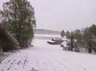 Поздний снегопад удивил жителей Прибалтики, Финляндии и Белоруссии (ВИДЕО, ФОТО)