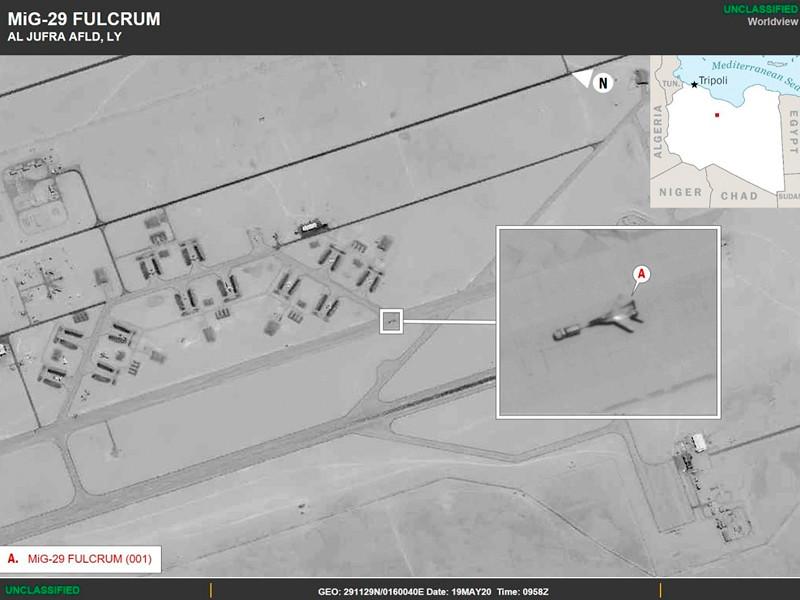 Африканское командование (АфриКом) Вооруженных сил США обвинило Россию в нарушении оружейного эмбарго в отношении Ливии
