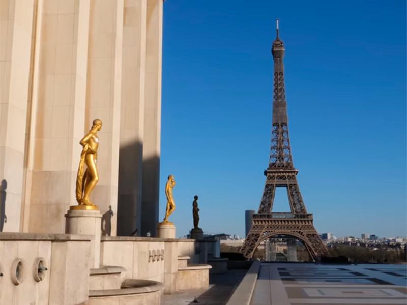 Во Франции за сутки заметили снижение числа госпитализированных с коронавирусом
