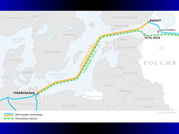 """Проект """"Северный поток-2"""" предполагает строительство двух ниток газопровода общей мощностью 55 млрд кубометров в год от побережья России через Балтийское море до Германии"""