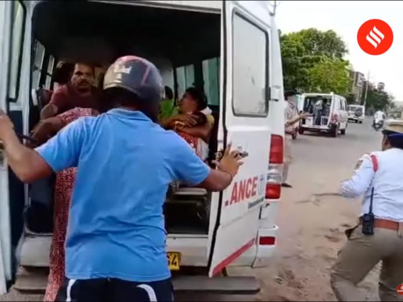 Не менее 11 человек погибли, тысячи пострадали из-за крупной утечки газа на химическом заводе в Индии (ВИДЕО)