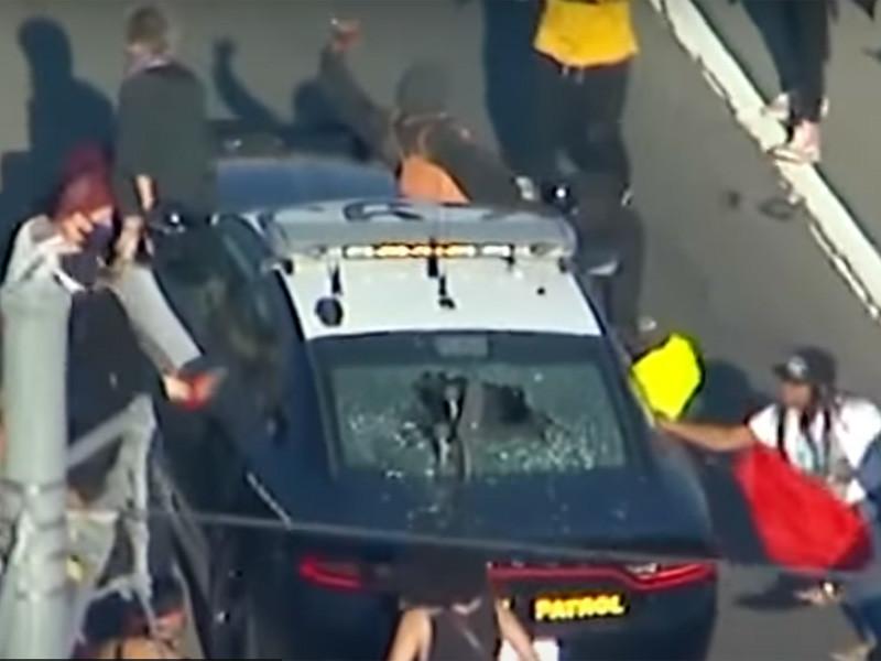 """Акции против произвола полиции """"Я не могу дышать"""" переросли в беспорядки в двух городах США (ФОТО, ВИДЕО)"""" />"""