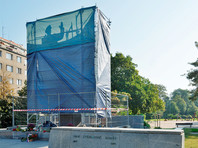 В Праге на месте памятника Коневу установили унитаз (ФОТО)