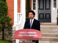 РФ продолжает нарушать международные нормы и ей нет места в G7, сказал премьер-министр Канады Джастин Трюдо