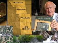 """В США найдены """"сокровища Фенна"""" стоимостью 1 млн долларов, спрятанные 10 лет назад"""