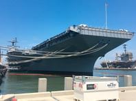 Новейший авианосец ВМС США вышел из строя из-за отказа системы катапульты самолетов