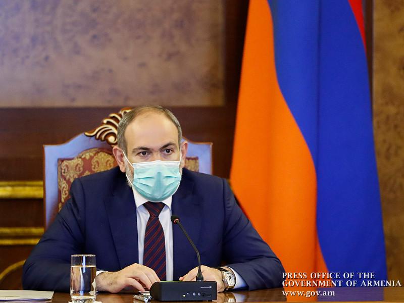 У премьера Армении Никола Пашиняна и его семьи подтвердился коронавирус