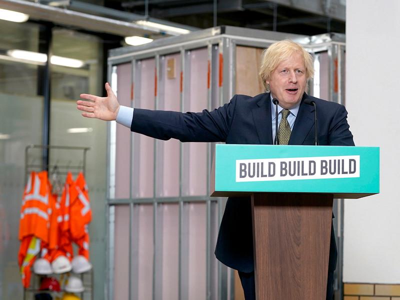 Борис Джонсон пообещал британцам спасти экономику, озеленить страну и создать научную сверхдержаву