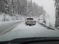 В США Горные штаты завалило снегом, а несколько других страдают от природных пожаров (ФОТО, ВИДЕО)