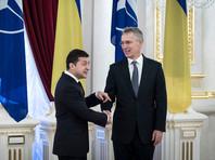 Владимир Зеленский и Йенс Столтенберг