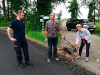 В Польше собака три дня охраняла хозяина, провалившегося в болото