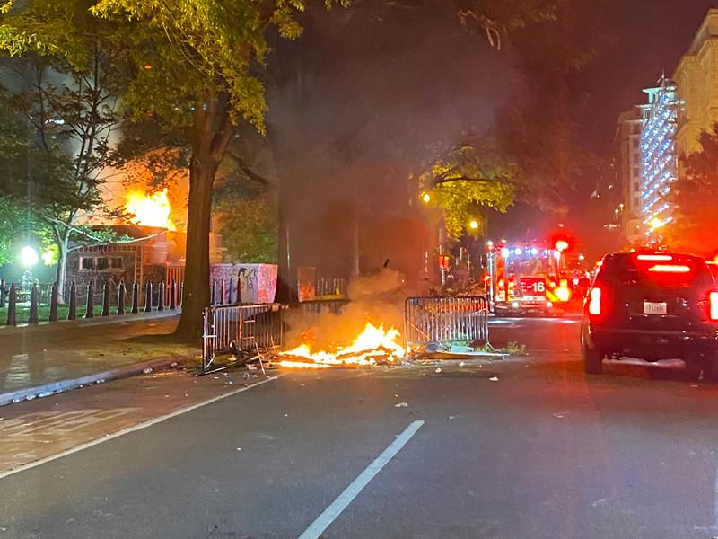 Последствия беспорядков в Вашингтоне