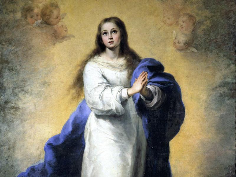 Испанский реставратор-любитель изуродовал лицо Девы Марии на копии картины Мурильо (ФОТО)