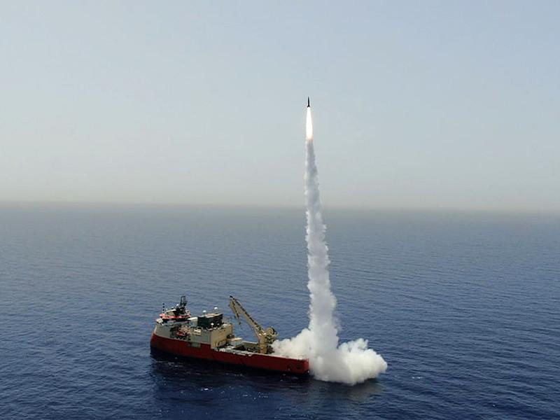 В Израиле успехом завершилось испытание баллистических ракет малой дальности