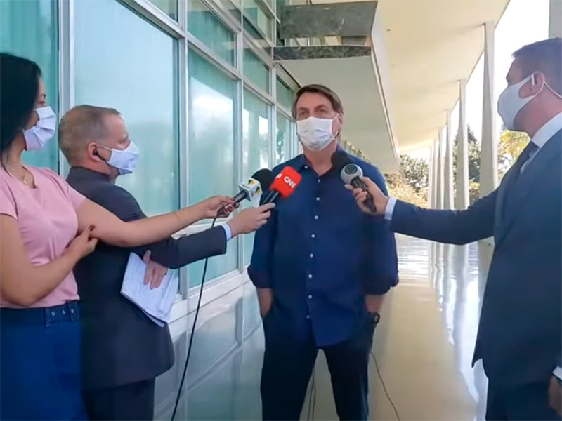 У президента Бразилии нашли COVID-19
