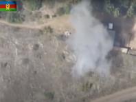 Военные также заявили, что взорвали армянскую долговременную огневую точку (ДОТ), с которой велись обстрелы