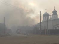 Накануне в Новоайдарском районе Луганской области возгорание сухой травы и лесного массива перекинулось на населенные пункты