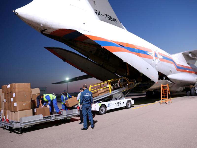 Доставка гуманитарной помощи в Республику Казахстан