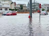 """Штаты Восточного побережья США пострадали от тропического шторма """"Фэй"""" (ФОТО, ВИДЕО)"""