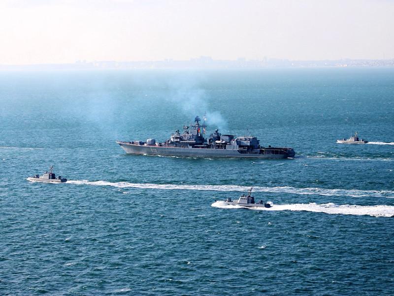 США совместно с Украиной начали в Черном море, у берегов Одессы, международные военно-морские учения Sea Breeze 2020