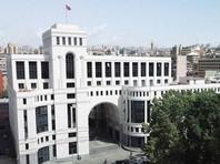 МИД Армении обвинил Баку в организации нападений на армян в зарубежных странах