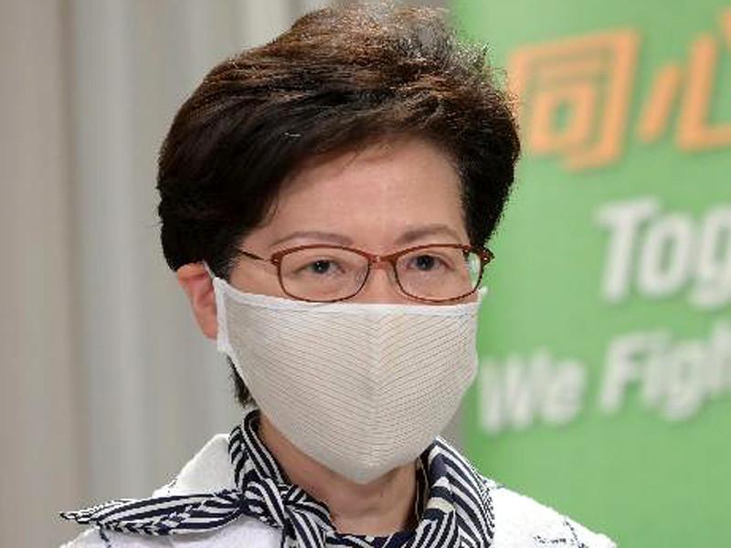 Глава администрации Гонконга Кэрри Лам заявила, что это решение было принято в связи с ростом числа инфицированных коронавирусом