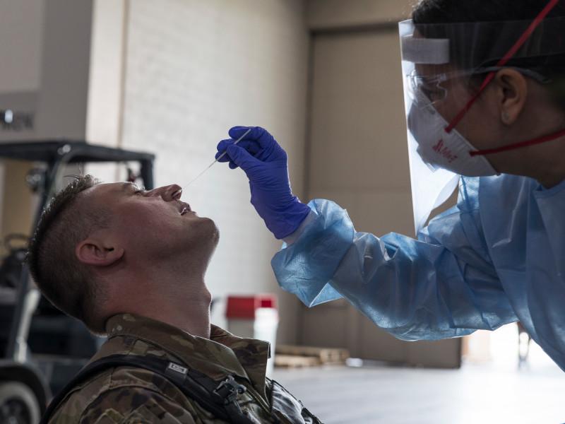 Более 22 тыс. военных в США заболело коронавирусом за все время эпидемии