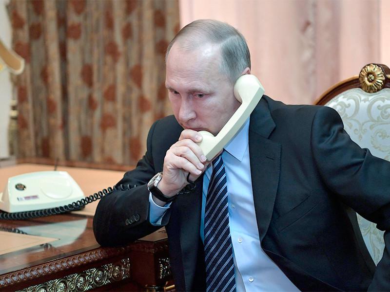 Зеленский позвонил Путину перед началом очередного перемирия на Донбассе