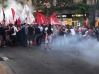 В Греции новый закон о демонстрациях вызвал массовые протесты. В Афинах полиция применила слезоточивый газ