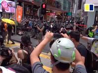 В Гонконге задержаны более 370 участников антиправительственных акций