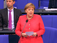 """Проект """"Северный поток 2"""" должен быть завершен, заявила канцлер Германии Ангела Меркель"""