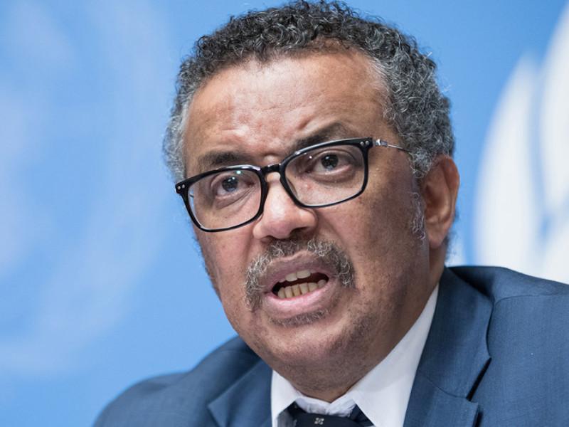 Глава Всемирной организации здравоохранения (ВОЗ) Тедрос Гебрейесус