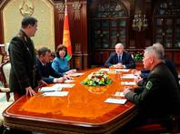 Лукашенко созвал экстренное совещание с членами Совбеза Белоруссии