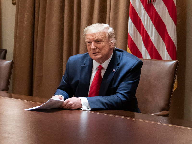 Трамп заявил, что в России удивились бы статистике при таком же интенсивном тестировании на COVID-19, как в США