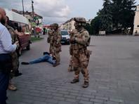 После штурма автобуса полицейскими злоумышленник был задержан