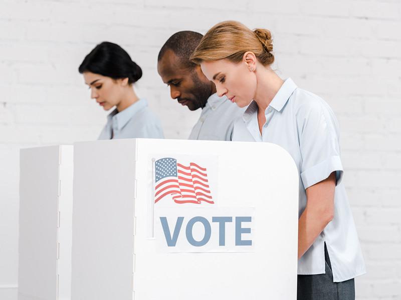 Опрос: 85% американцев намерены принять участие в президентских выборах в ноябре