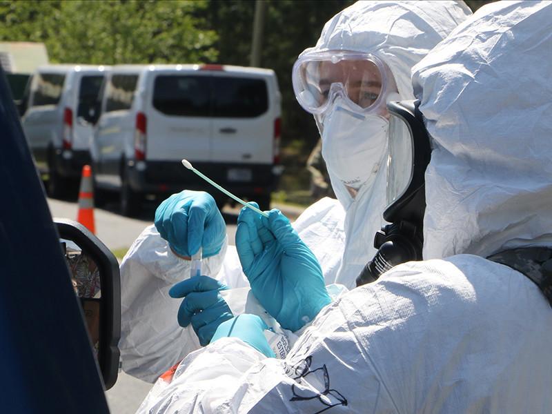 """Заболеваемость коронавирусом в США продолжает ставить рекорды: почти 55 тысяч человек в сутки"""" />"""