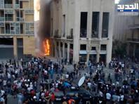 Протестующие призывали к свержению правящего режима и наказанию высокопоставленных чиновников, халатность которых, по мнению демонстрантов, привела к взрыву