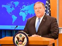 """Помпео: Белый дом примет меры против китайских компаний, угрожающих безопасности США, """"в ближайшие дни"""""""