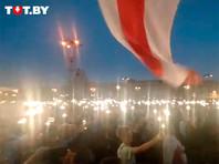 Минск, площадь Независимости, 21 августа 2020 года