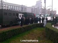На площади Свободы в Минске задержали журналистов мировых информагентств