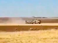 CNN: В Сирии российский БТР протаранил бронемашину США, пострадали несколько американцев