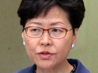 США вводят санкции против главы администрации Гонконга и других высших чиновников города
