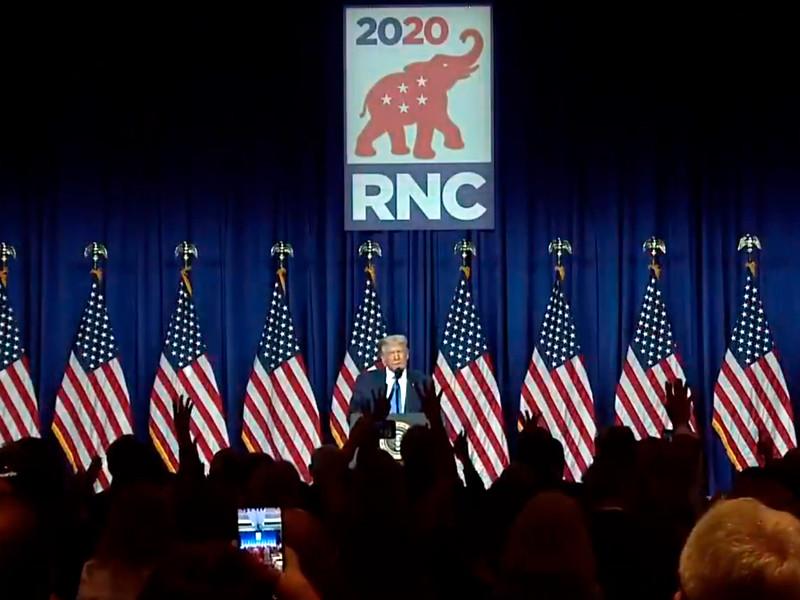 Участники съезда Республиканской партии США в понедельник официально выдвинули Дональда Трампа кандидатом в президенты страны